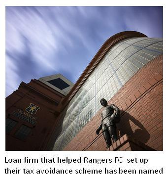 Rangers FC used tax avoidance scheme Deepwater Ltd.