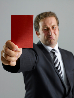 Tax Evasion: Don't let HMRC show you the red card