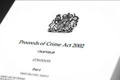 Proceeds of Crime Act 2002 UK