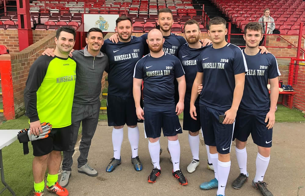 KinsellaTax Wins The Sports Business Five-A-Side Tournament